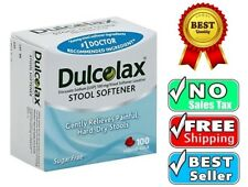 Dulcolax Stool Softener Relieves Constipation Softens Dry Hard Stools *NEW*