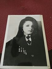 Janet jackson 5x7 Promo Publicity Photo Picture B&W
