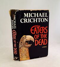 Eaters Of The Dead-Michael Crichton-SIGNED!!-First/1st Edition/2nd Printing-RARE