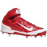 New Nike Air Huarache Pro 3/4 Mid Metal Mens Baseball Cleats : Red Camo