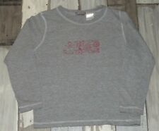 ~ 4 ans LA REDOUTE - FIC111 ~ Tee-shirt maillot de corps ML gris ~