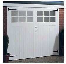Wooden garage doors unglazed, 7x7ft any size made. We beat any price.