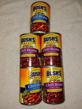 bush's chili beans 2 pino to 3 kidney beans with mild chill sauce. BBD Aug 2020