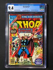 Thor Annual #6 CGC 9.4 (1977) - Guardians of the Galaxy app