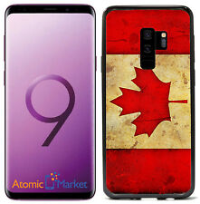 Canada Canadian Flag Grunge For Samsung Galaxy S9 2018 Case Cover