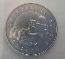 SAN MARINO 5€ moneda de plata /silver  925 mls. 2011 Gagarin Shepard