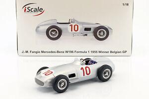 J.M. Fangio Mercedes-Benz W196 #10 Winner Belgien GP World Champion Formel 1 195