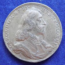 More details for great britain, charles i memorial medal, 34mm, white metal (ref. c8051)