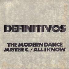 "DEFINITIVOS – The Modern Dance (1981 VINYL SINGLE 7"" BELGIUM PUNK)"