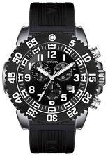 New Mens  Invicta 12530 Pro Diver Swiss Chronograph Black Watch