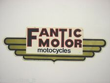 ADESIVO MOTO anni '80 / Old Sticker FANTIC MOTOR CROSS (cm 21 x 7)