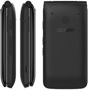 Alcatel Go Flip 4044T - Black (Sprint / Boost Mobile) 4G VoLTE Flip Phone
