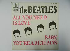 THE BEATLES All You Need Is Love & Baby,.../ 60s French SP EMI ODEON FO103 LUXE