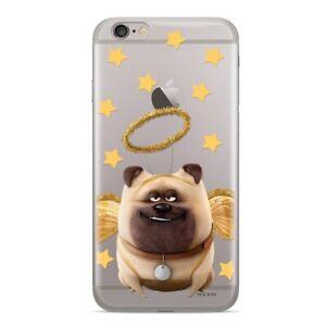 Handyhülle Apple iPhone X/Xs Disney Backcover Silikon Pets 2 Hund transparent