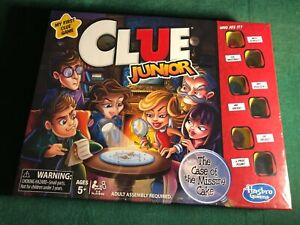 Clue Jr. Family Fun Classic Interactive Multi-Player Board Game Hasbro HSBC1293