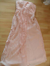 by LIGHT IN THE BOX chices langes Chiffon Abendkleid rosa Gr. 38/40 NEUw. BSu316