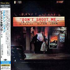 1 CENT CD Don't Shoot Me I'm Only - Elton John JAPAN IMPORT/OBI/MINI LP SLEEVE
