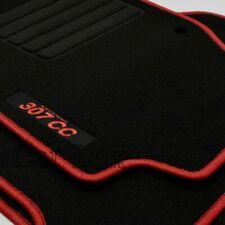 Alfombras a medida para PEUGEOT 307CC desde 2003-2009 EDITION Velour rojo