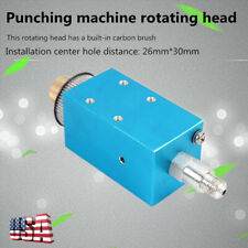 Punching Machine Accessories Drill Part Rotating Head, Aluminum Material Usa