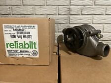 Water Pump For Detroit S60 12.7L By Gmb 196-2120 M# R23539601 + 30-day Warranty