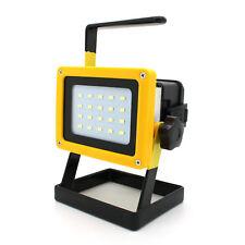 LED Akku Arbeitsleuchte Baustrahler Fluter Handlampe Strahler Flutlicht Lampe