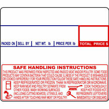 """Cas Lst-8030 Printing Scale Label 58 x 50 mm, Non-Upc/Safe Handling """"24 Rolls"""""""