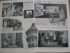 Photo article televison comes to stay 1935
