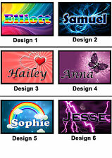 Personalised Name Fridge Magnet - With Any Name or Message  - Gift Idea - 7x5cm