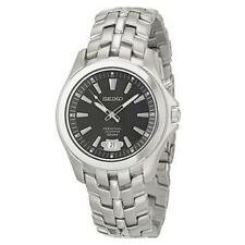 Seiko Stainless Steel Case Watches with Perpetual Calendar