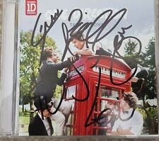 One Direction Signed Take Me Home Cd With Proof