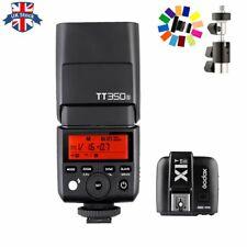 UK Godox Mini TT350S 2.4G TTL Camera Speedlite+X1T-S Trigger For Sony With gift