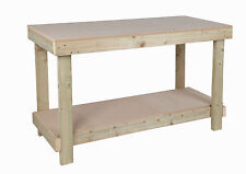 WORKBENCH 5FT / 1.5m WORK BENCH HEAVY DUTY 18mm THICK MDF TOP **FREE DELIVERY**