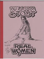 William Stout.  ' Real Women '  Signed Ltd. Edition.  NM