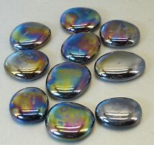 Glasnuggets-dekosteine-muggelsteine II. choix, grand dans irisierend à 200g