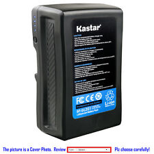 Kastar Battery or Charger for Sony V Mount V Lock Battery Sony PDW-700 camcorder