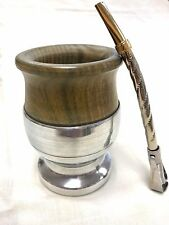 Mate from Palo Santo wood + Mate Straw + Yerba Mate Spoon MADE IN ARGENTINA
