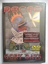 Gory Days [CD/DVD] [PA] by Necro (Psycho + Logical rec.) NEW !!!