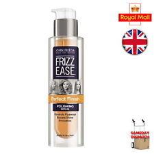 John Frieda Frizz Ease PERFECT FINISH Polishing Serum 50ml Frizzy Hair Smoother-