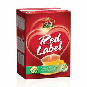 Red Label Brooke Bond Tea, High Quality Blend Of Tea Rich In Taste