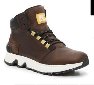 Sorel Mac Hill Boots waterproof Men's Size 10M Dark Brown - NEW! Best Price