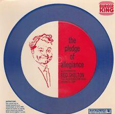 TED SKELTON PLEDGE OF ALLEGIANCE 1969 BURGER KING PROMOTIONAL RECORD