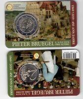 BELGIUM  BIMETAL 2 EURO UNC COIN 2019 YEAR PIETER BRUEGEL
