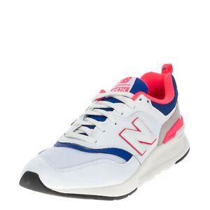 NEW BALANCE 997H Sneakers EU 43 UK 9 US 9.5 Contrast Leather Color Block Logo