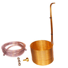"Immersion Wort chiller 50' x 3/8"" Copper EXTRA TALL"