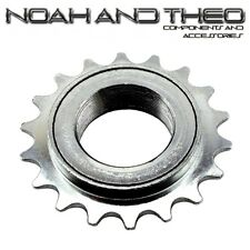 "N&T 18T 34mm 1/2"" x 1/8"" Silver BMX Freewheel Bicycle Single Speed Cog Sprocket"