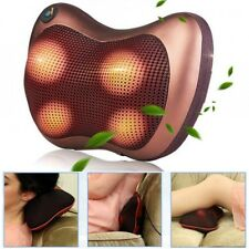 Electronic Massage Pillow Massager Cushion Relax Neck Back Shoulder Legs For Car