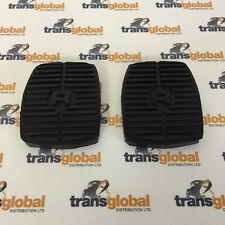 Land Rover Discovery 1 89-98 Clutch & Brake Pedal Rubber x2 Bearmach - 575818