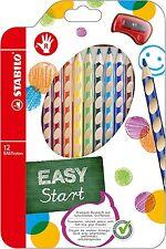 STABILO EASYCOLORS Confezione 12 Matite Colorate Ergonomiche per Destri 332/12