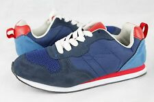 Boys GAP Trainer Drizzle Blue Red Sneaker Shoes Kids Size 5