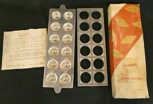 Vintage Italian Instant Ravioli Maker Columbus RL 24 Mold In Original Box